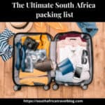 The Ultimate South Africa packing list